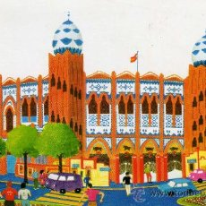 Postales: BARCELONA AN 69 PLAZA DE TOROS MONUMENTAL COLECCIÓN PERLA . Lote 29468539