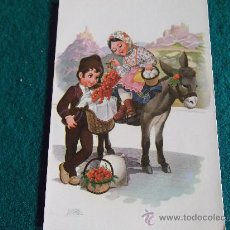Postales: POSTALES-TRAJES TIPICOS PORTUGUESES-D2-ANCORA-REF.254-5. Lote 29552892