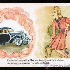 Postales: POSTAL CARICATURA Y DIBUJOS - SERIE 35 - ILUSTRADOR: E. MORÁN. Lote 30523216