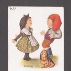 Postales: POSTAL Nº 487 CARICATURA - ILUSTRADA POR J. IBAÑEZ - EDITADA POR EDICIONES VICTORIA (N. COLL). Lote 30668273