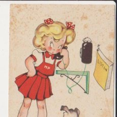 Postales: POSTAL ILUSTRADA POR MARIA CLARET,COLECCION DE POSTALES MARI -PEPA SERIE B Nº6. Lote 31164353