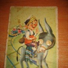 Postales: POSTAL CON MOVIMIENTO DE OJOS EDICIONES CIMER Nº 108 LE FALTA UN OJO . Lote 31179378