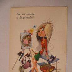 Postales: POSTAL; ESCRITA SIN SELLO, AÑO 1969. Lote 31196455