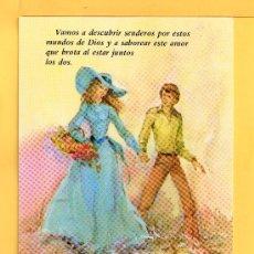 Postales: POSTAL DE DIBUJOS DE UNA PAREJA DIBUJO DE JOAN VERNET EDICION GYZ SUN CIRCULAR . Lote 31234516