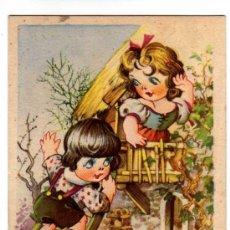 Postales: PAREJA DE JOVENES ENAMORADOS.CIRCULADA. Lote 31254187