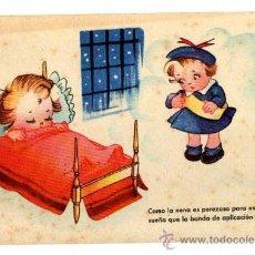Postales: NIÑA EN UN SUEÑO. CIRCULADA EN 1946. Lote 31254659