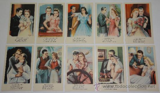 LOTE 10 POSTALES DIBUJOS Y CARICATURAS - CMB. SERIE 78 - ZSOLT (Postales - Dibujos y Caricaturas)
