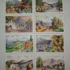 Postales: LOTE DE 8 POSTALES DE PAISAJES - CYZ. Lote 31710864