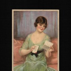 Postales: POSTAL MUJER DE EPOCA - SOMEONE IS THINKING OF YOU. Lote 31780501