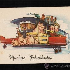 Postales: POSTAL DIBUJOS Y CARICATURAS - MUCHAS FELICIDADES - CMB. SERIE 60 - ZSOLT. Lote 31784479