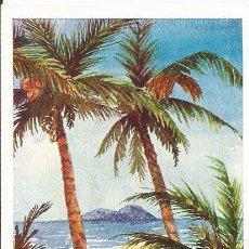 Postales: ** PR429 - POSTAL - PALMERAR - ORIGINAL PINTADO CON LA BOCA - SIN CIRCULAR. Lote 31790958