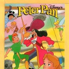 Postales: DOS POSTALES DE PETER PAN DISNEP´SIN CIRCULAR . Lote 31877378