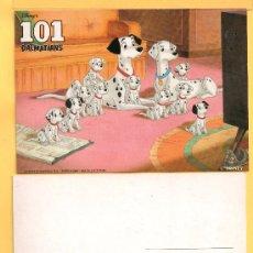 Postales: TRES POSTALES DE 101 DALMATIANS DISNEP´SIN CIRCULAR . Lote 31882417