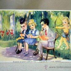 Postales: TARJETA POSTAL, POSTAL, CARICATURA, FENIX, 1949. Lote 31955636