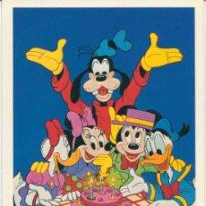 Cartes Postales: POSTAL PERSONAJES DISNEY - DISNEYLAND - MICKEY - DONAL - GOOFY. Lote 31933015