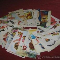 Postales: LOTE CON 25 POSTALES CON DIBUJOS. Lote 31965643