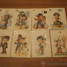 Postales: 8 POSTALES ILUSTRADAS CASTAÑER SIN CIRCULAR . Lote 32097458