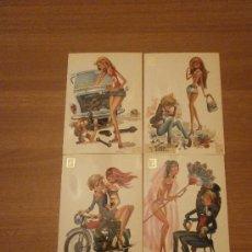 Postales: 4 POSTALES ILUSTRADAS CASTAÑER SIN CIRCULAR . Lote 32097485