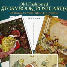 Postales: OLD-FASHIONED STORYBOOK POSTCARDS. Lote 32217403