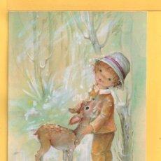 Postales: POSTAL DE DIBUJOS SIN CIRCULAR EDITADA C. Y .Z. DIBUJO BARO. Lote 32436769