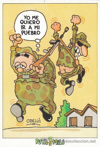 ISIDORO PIÑONFIJO (POR OZELUÍ), EDITADA POR LA PUTA MILI (Postales - Dibujos y Caricaturas)