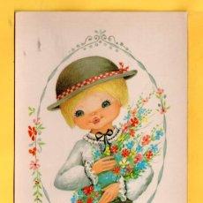 Postales: POSTAL DE DIBUJOS SIN CIRCULAR EDITADA C.Y.Z. DIBUJO NUCO. Lote 32483064