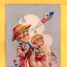 Postales: POSTAL DE DIBUJOS ESCRITA EDITADA C.Y.Z. DIBUJO I.VERNET. Lote 32483146