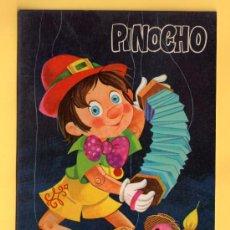 Postales: POSTAL DE DIBUJOS DE PINOCHO SIN CIRCULAR EDITADA C.Y.Z. DIBUJO J. JOAN. Lote 32483176
