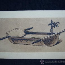 Postales: POSTAL DE CUNA BEARNESA. ED. RAYMOND BERGEVIN.. Lote 32557149