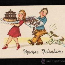 Postales: POSTAL DIBUJOS Y CARICATURAS - MUCHAS FELICIDADES - CMB. ZSOLT. Lote 32719922