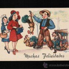 Postales: POSTAL DIBUJOS Y CARICATURAS - MUCHAS FELICIDADES - CMB. ZSOLT. Lote 32719955