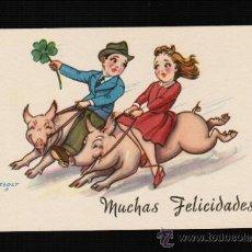 Postales: POSTAL DIBUJOS Y CARICATURAS - MUCHAS FELICIDADES - CMB. ZSOLT. Lote 32719973