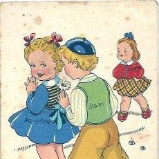 Postales: 0744F - IKON EDICIONES DE ARTE - EDITORIAL ARTIGAS - SERIE 15 - ILUSTRA GIRONA - DATA 1941. Lote 32814527