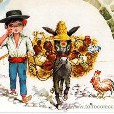 Postales: POSTAL CIRCULADA.EL BOTIJERO.. Lote 33058282