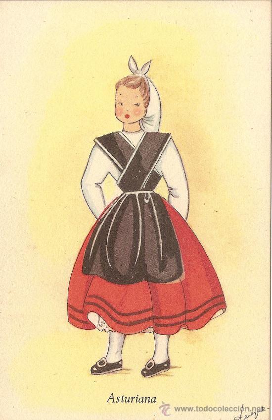 ASTURIANA, ILUSTRADOR TEREQUE - EDICIONES C.D.R. Nº 8 - NUEVA (Postales - Dibujos y Caricaturas)