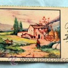Postales: PEQUEÑA POSTAL DE FELICITACIÓN - AÑOS 50 - ILUSTRADA ROGELIO LÓPEZ - MEDIDAS: 11,7 X 5,5 CM. Lote 33320312