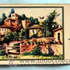Postales: PEQUEÑA POSTAL DE FELICITACIÓN - AÑOS 50 - ILUSTRADA ROGELIO LÓPEZ - MEDIDAS: 11,7 X 5,5 CM. Lote 33320334