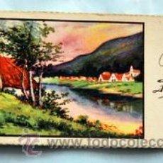 Postales: PEQUEÑA POSTAL DE FELICITACIÓN - AÑOS 50 - ILUSTRADA ROGELIO LÓPEZ - MEDIDAS: 11,7 X 5,5 CM. Lote 33320358