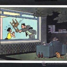 Cartoline: ILUSTRADOR *JOOST SWARTE* ED. MAISON D'ART PLAIZIER 1987. SERIE *DILEMMA* Nº 5. NUEVA.. Lote 34317240