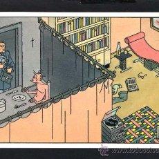 Cartoline: ILUSTRA *JOOST SWARTE* ED. MAISON D'ART PLAIZIER 1987, BÉLGICA. SERIE *DILEMMA* Nº 7. NUEVA.. Lote 34317251