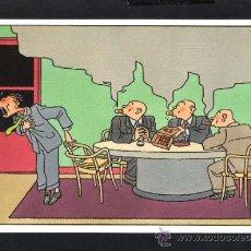 Cartoline: ILUSTRADOR *JOOST SWARTE* ED. MAISON D'ART PLAIZIER 1987. SERIE *DILEMMA* Nº 9. NUEVA.. Lote 34317258