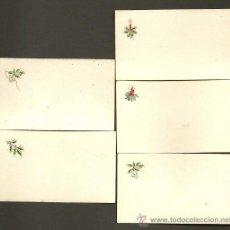 Postales: 0868D - LOTE DE ANTIQUISIMAS TARJETAS NAVIDEÑAS. Lote 34495407