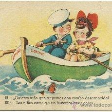 Postales: POSTAL EDICIONES CMB .-SERIE 31.-ILUSTRADOR FARINYES.. Lote 34558545