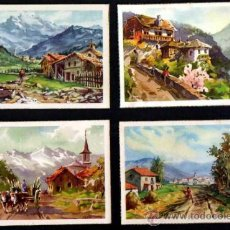 Postales: 4 POSTALES PAISAJES. CIRCULADAS EN LOS 50. EDICIONES C Y Z . Lote 34936139