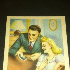 Postales: ANTIGUA POSTAL ROMANTICA DIBUJO ZSOLT SERIE 78. Lote 34936894