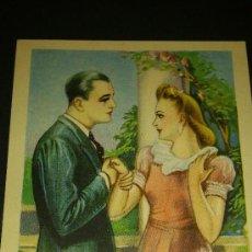 Postales: ANTIGUA POSTAL ROMANTICA DIBUJO ZSOLT SERIE 78. Lote 34936963