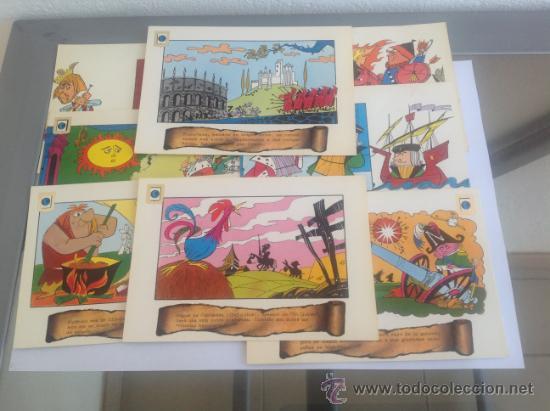 LOTE DE POSTALES EDICIONES PAULINAS ORIGINALES GAVIOLI (Postales - Dibujos y Caricaturas)