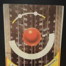 Postales: CERCLE CARTÒFIL DE CATALUNYA. SERIE G Nº 1. ORIGINAL DE ENRIC SATUÉ. TIRADA 250 EJEMPLARES. NUMERADA. Lote 35338310