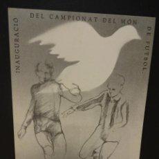Postales: CERCLE CARTÒFIL DE CATALUNYA Nº 3. ORIGINAL DE ANDREU FRESQUET.. Lote 35340013