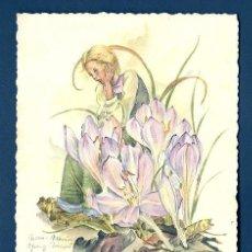 Postales: 6079B - EDICIONES M 1071- ILUSTRA ANNA MARIE SCHWARZ. Lote 36147974
